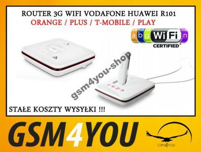ROUTER GSM 3G WIFI VODAFONE R101 ORANGE PLUS PLAY