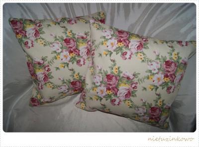 Poszewki Dekoracyjne Vintage Angielskie Kwiaty 2682326630