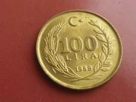 100 LIRA 1989 rok TURCJA mennicza (19)