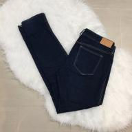 H&M divided ciemne deep denim jeansy proste L