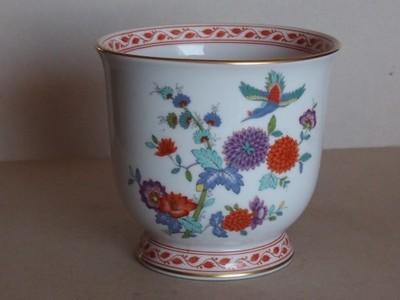 Porcelanowa donica - syg. Kaiser