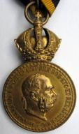 AUSTRO - WĘGRY medal SIGNVM LAVDIS