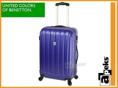 10de4ce7b9fcd 26% BENETTON SCANNER walizka średnia na kółkach - 5952740956 ...
