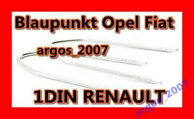Klucze Haki wyjmaki Blaupunkt Philips Opel Ford