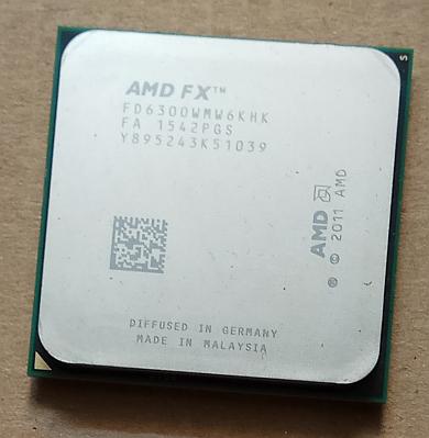 AMD FX-6300 3.50GHz [4.1GHz Turbo], 6 rdzeni, 14MB