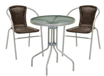 Meble Balkonowe Stolik Krzesło Ogrodowe Tarasowe