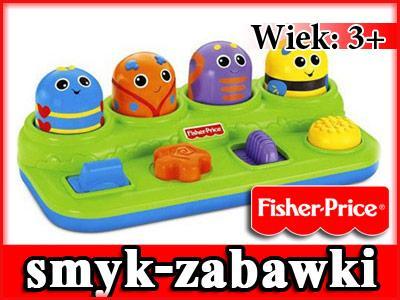Fisher Price Wyskakujące Robaki Bawiaki v2759