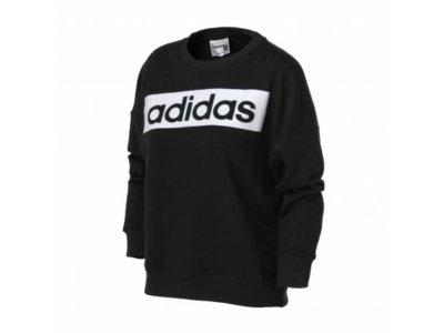 Wkladana przez głowę bluza z kapturem adidas DU0498 czarna