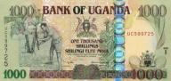 UGANDA 1000 Shillings 2005 P-43 UNC