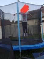 mata do trampoliny 244 cm 48 sprężyn