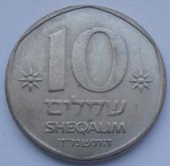 1984r. - Izrael - 10 Szekli