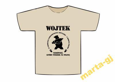 496b5c88239093 Koszulka patriotyczna dla dzieci niedźwiedź Wojtek - 3386303866 ...