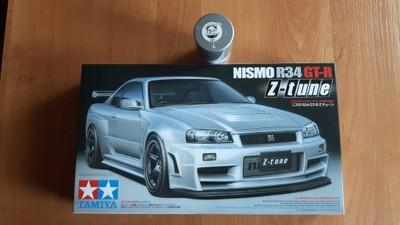 Tamiya 1 24 Nissan Skyline Nismo R34 Gt R Z Tune 6724837187 Oficjalne Archiwum Allegro