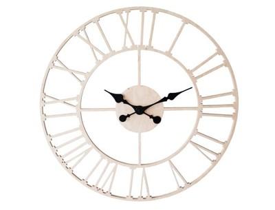 Wszystkie nowe Zegar ścienny ROME Styl Skandynawski NOWOŚĆ 50cm - 6811251610 MC37
