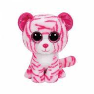 Maskotka Beanie Boos różowo biały tygrys Asia