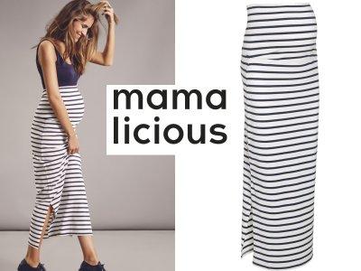 ab624c8d Mama Licious ciążowa spódnica do kostek Sofia L - 6174170735 ...