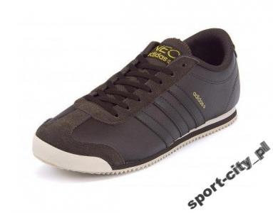 buty sportowe męskie adidas runneo czarno czerwone