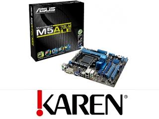Asus M5A78L-M LE AM3 AMD760G PCIE SATA2 Audio 7.1