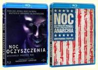 Blu-ray - Noc oczyszczenia + Anarchia [ 2 blu-ray]