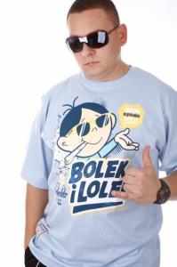 100% najwyższej jakości najwyższa jakość wiele modnych EL POLAKO T-SHIRT BOLEK I LOLEK BŁĘKITNY ROZ.L