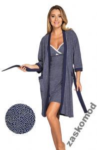 f951919f1fef3a Szlafrok damski ELENA XL Italian Fashion Nowość - 5747728930 ...