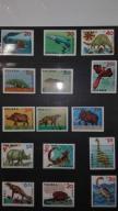 Znaczki pocztowe dinozaury