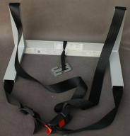 adapter do przewozu gondoli na tylnej kanapie auta