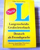 Langenscheidts Grossworterbuch Neu
