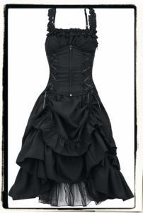Sukienka Gotycka Z Osobnym Gorsetem Rock Gothic S 5222748307 Oficjalne Archiwum Allegro