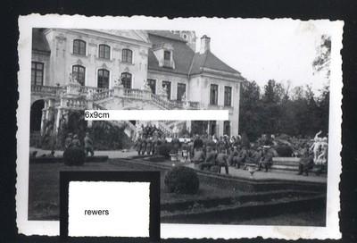KOZŁÓWKA wrzesień 1939 Pałac Zamoyskich Wehrmacht