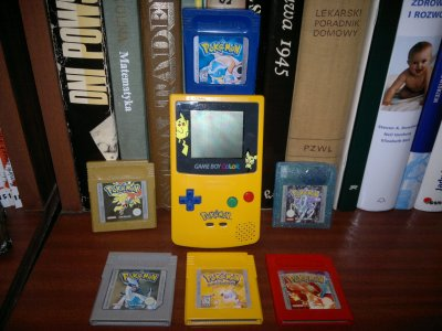game boy color pokemon red