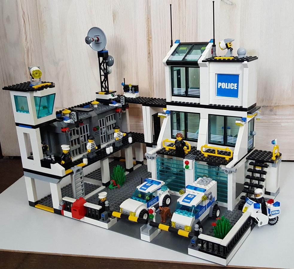 Lego City 7744 Posterunek Policji 6998820262 Oficjalne Archiwum