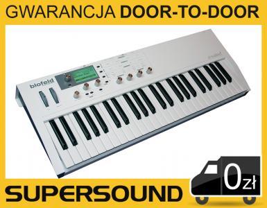 Waldorf Blofeld Keyboard Biały - Syntezator