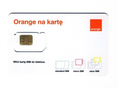 ORANGE FREE INTERNET NA KARTĘ 50GB NA WAKACJE F23 ...