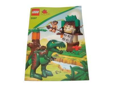 Tw Nowe Lego Duplo Instrukcja Do 5597 Dinozaur 6072246873