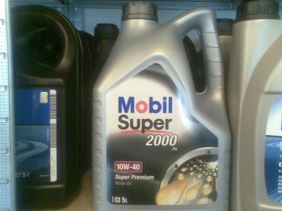 OLEJ MOBIL 10W40 5L SUPER 2000 X1 POZNAŃ! FILTRY!!