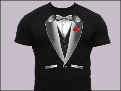 df7ca1e20689a7 Koszulka KRAWAT koszulki z nadrukiem z krawatem - 2943801530 ...