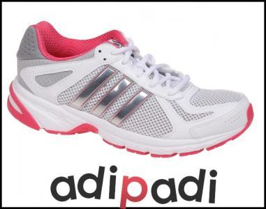 ADIDAS DURAMO 5 W (Q22316) Damskie | cena 14,99 PLN, kolor BIAŁY | Buty do biegania adidas