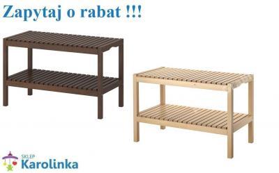 Drewniana ławka Do łazienki Gratis