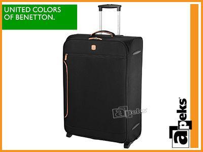 575cacdc629e1 BENETTON CIPO COLORS duża lekka walizka walizki - 4962703977 ...