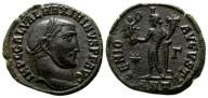 000566 | Maksymin II Daja (305-313), follis