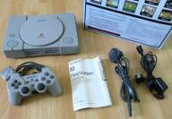 PS1 PSX PLAYSTATION 1 SCPH-9002 B DUAL SHOCK BOX