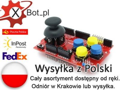 Joystick shield v1.A Arduino nRF24l01 Nokia 5110