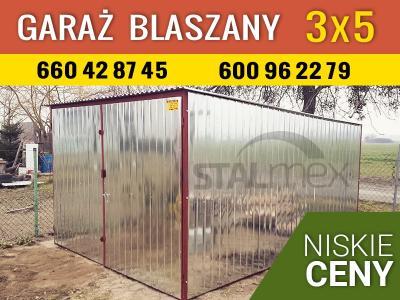 Garaże Blaszane Garaz Blaszak Małopolska Myślenice 5933347090