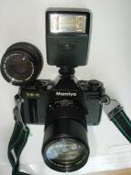 2 obiektywy z do aparatu Mamiya ZE-X aparat grati