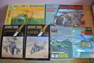 Śmigłowce / helikoptery Modele kartonowe