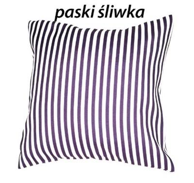 Dekoracyjne Poszewki Na Poduszki 40x40 W Paski 6557104970