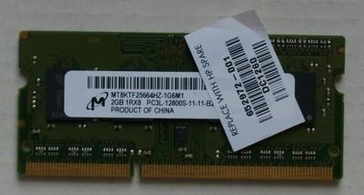 Micron MT8KTF25664HZ-1G6M1 2GB 12800 1600 w 1 kośc
