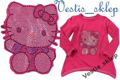 ex M&S bluzka tunika Hello Kitty dżety 98 2/3