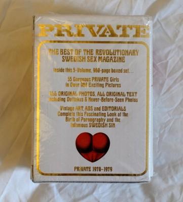 Zestaw Książek Erotycznych Private 1970-79
